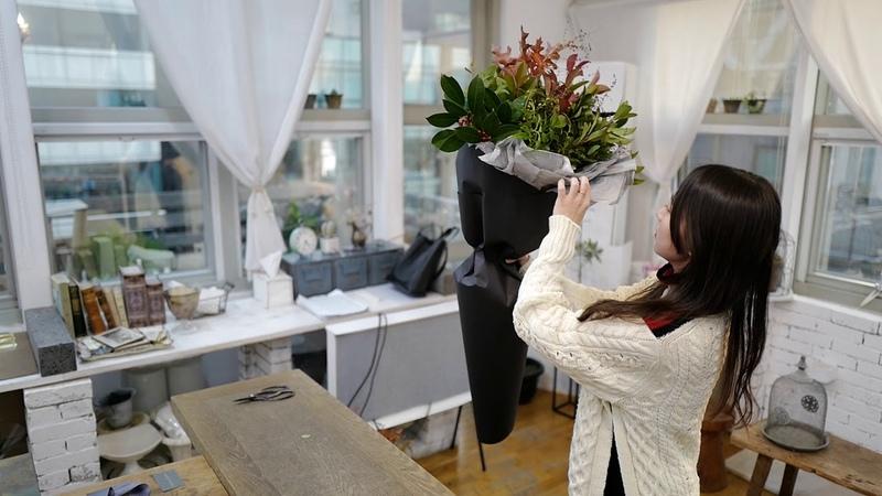 케이라플레르(Keira Fleur) 대형꽃다발포장법, 플라워클래스, 플라워레슨, 플로리스5
