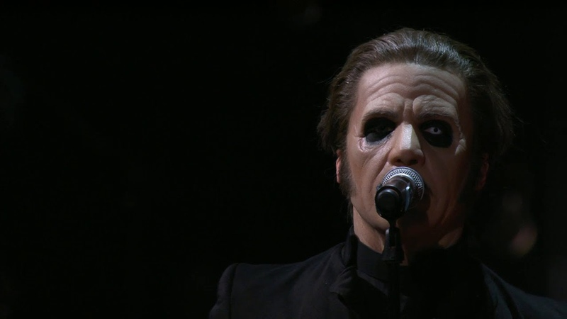 "Ghost Candlemass Vargas Lagola framför Metallicas ""Enter Sandman"" Polar music prize TV4"