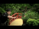 Мастер самурайского меча разделил шар на скорости 120 км/ч