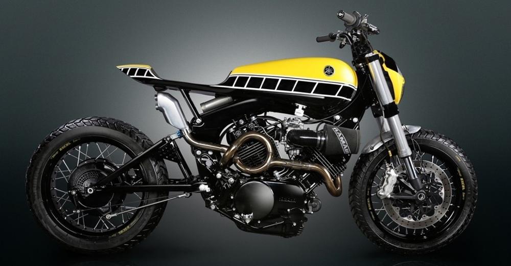 Thornton Hundred Motorcycles: стрит-трекер Yamaha XV750 Virago 1983