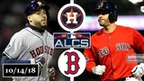 Houston Astros vs Boston Red Sox Highlights ALCS Game 2 October 14, 2018