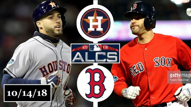 Houston Astros vs Boston Red Sox Highlights || ALCS Game 2 || October 14, 2018