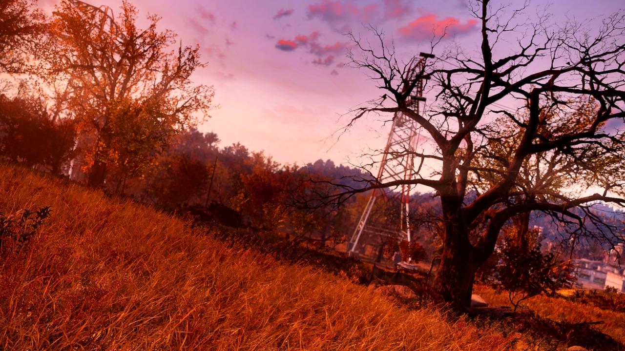 За что точно можно любить Fallout76 так это за красивый мир .