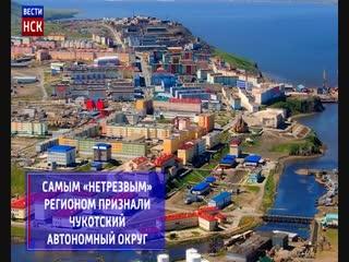 Новосибирская область попала в топ-20 самых непьющих регионов России
