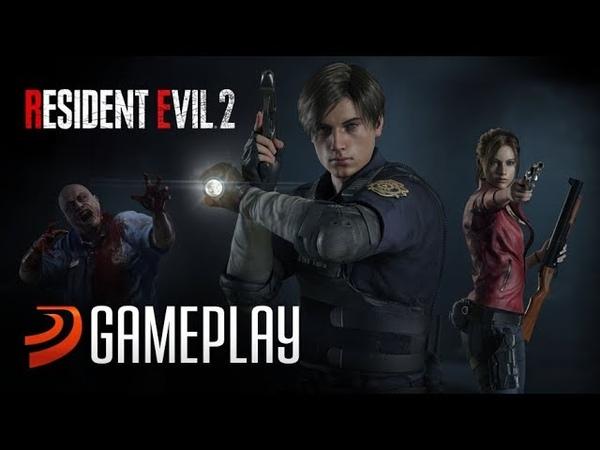 Геймплейная нарезка ремейка Resident Evil 2