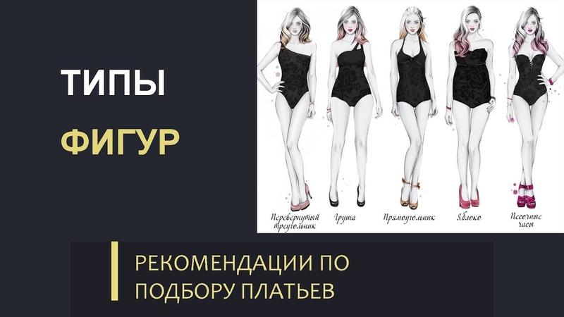 Рекомендации по подбору платьев для разных типов фигур