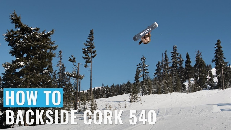 How To Backside Cork 540 On A Snowboard