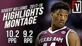 Robert Williams Texas A&ampM Sophnmore Highlights Montage 2017-18 10.2 PPG 9.2 RPG, Athletic Beast!