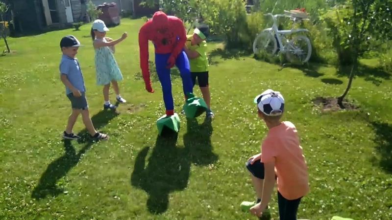 Тук тук Я человек паук