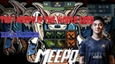 Dota 2 7 21 Top 1 meepo in the world Abed 10000mmr rampage meepo