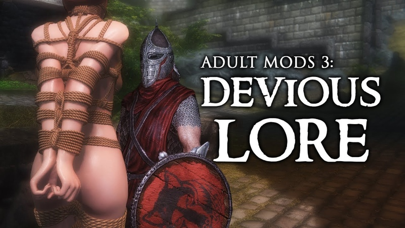 SKYRIM ADULT MODS 3: Can you tie me up?
