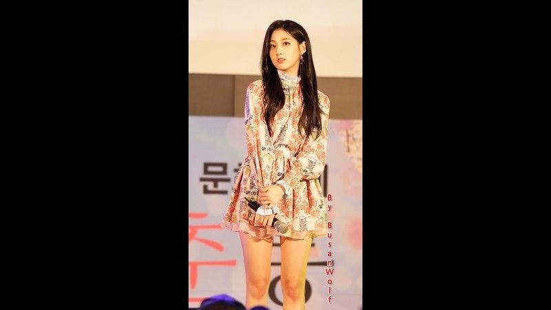 180331 러블리즈 정예인 FALLIN 직캠 Lovelyz Jeong Yein 4K Fancam 2018 부산 청춘 문화축제, 영화의 전당 by BusanWolf