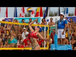 Пляжный волейбол. Чемпионат Европы U20. Матчи за бронзу. Мужчины и Женщины. 1 июля  МСК
