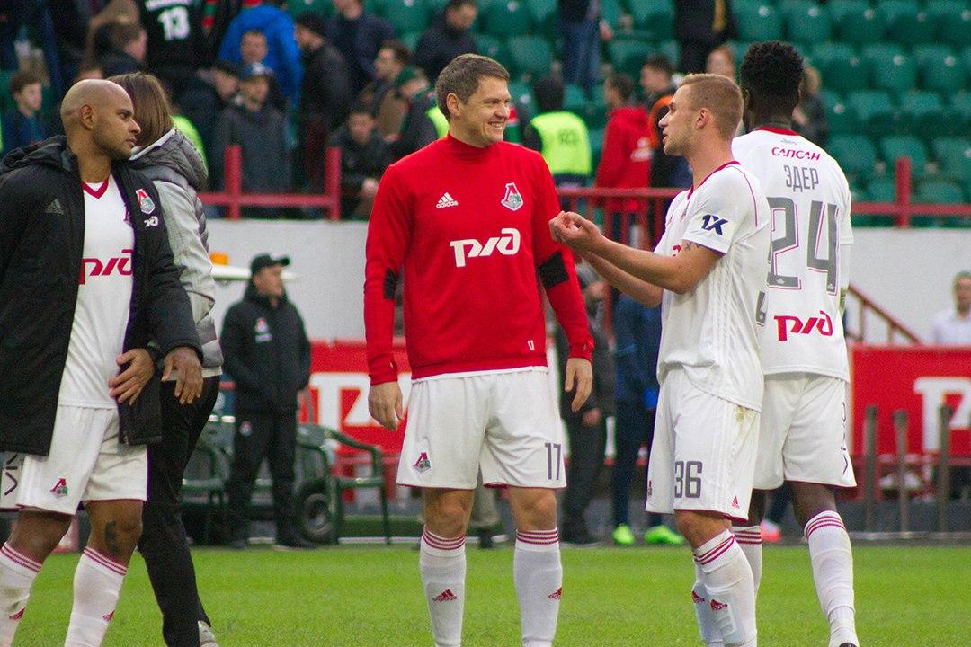 Тарас Михалик и Дмитрий Баринов. Фото: Дмитрий Бурдонов / Loko.News