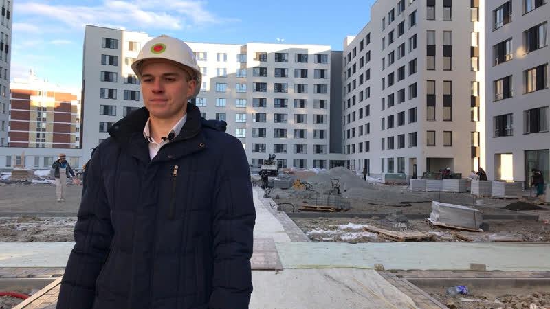 Квартал Брусники в жилом районе «Солнечный»: динамика строительства