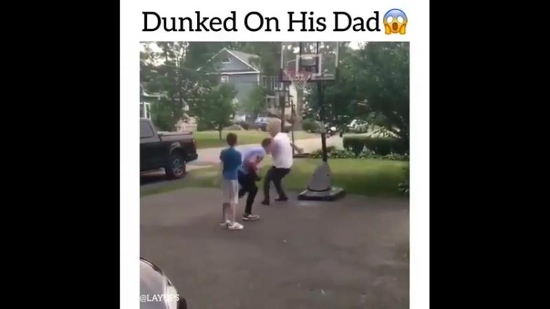 Заданчил через отца