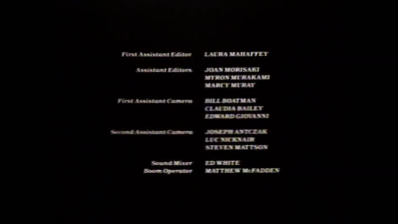 Movie End Credits 415 Pucker Up and Bark Like a Dog