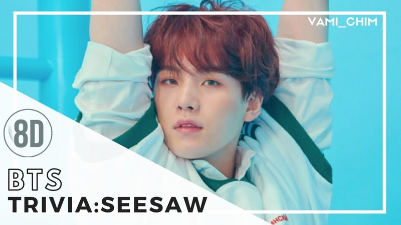 BTS (SUGA) - TRIVIA : SEESAW「8D AUDIO」USE HEADPHONES DOWNLOAD LINK