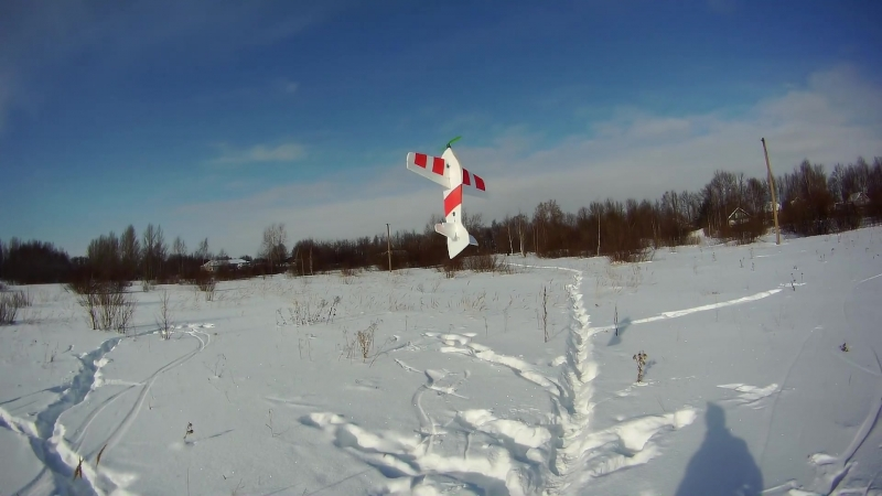 Зимний пилотаж на Libro 3D