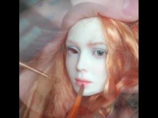 Процесс создания куклы от @lutsenko_dolls