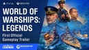 World of Warships: Legends First Closed Beta Official Gameplay Trailer