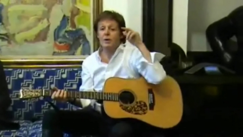 Paul McCartney –Meat Free Monday (acoustic version) - 2009