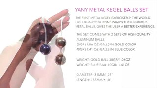 Yany Metal Kegel Exerciser by Nalone