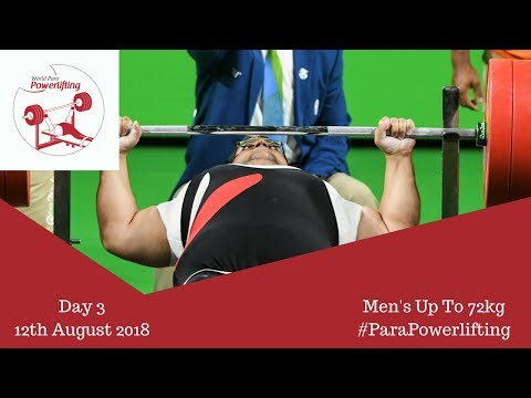 Men's Up To 72kg Algiers 2018 WPPO African Championships
