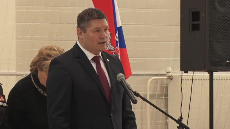 Церемония открытия отделения Тараканова в Пансионе Минобороны