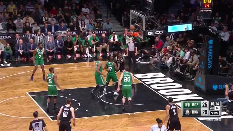 Бруклин Нэтс - Бостон Селтикс (сезон 2018-2019) 14.01.19 обзор