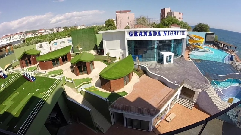 Обзор отеля GRANADA LUXURY RESORT 5* (Алания) Турция