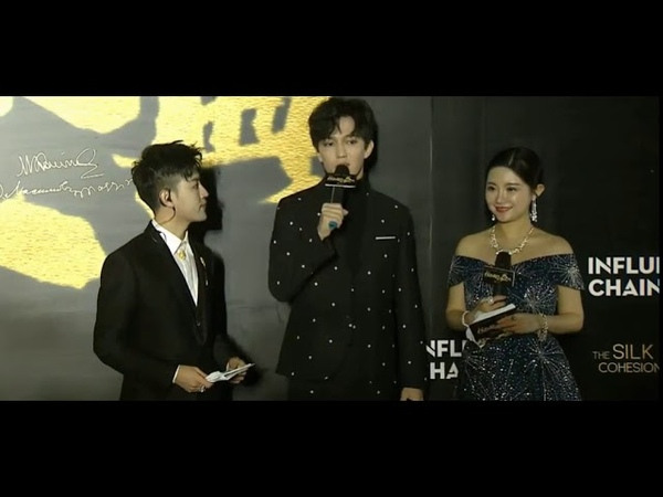 Dimash on Red Carpet The Silk Road Cohesion Awards 16 Dec 18