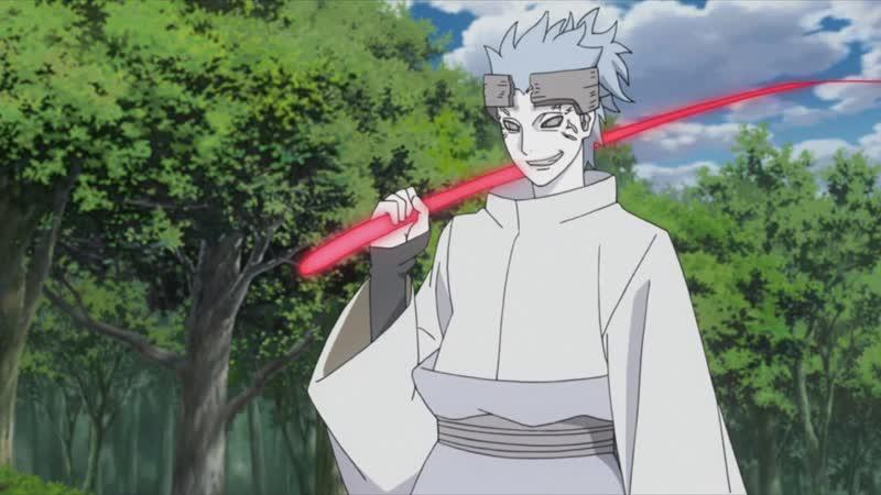 Гаара и Чоджуро против Урашики в аниме Боруто