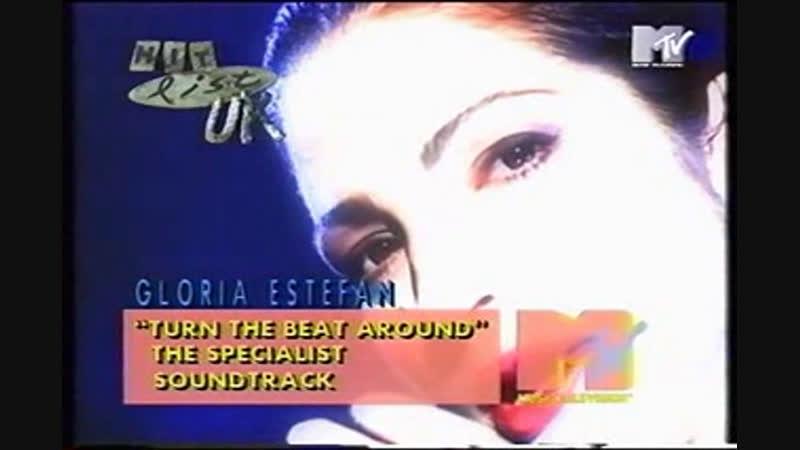 Gloria estefan turn the beat around mtv