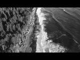 RIALTO BEACH LA PUSH - FORKS, WASHINGTON, USA - BY DRONE