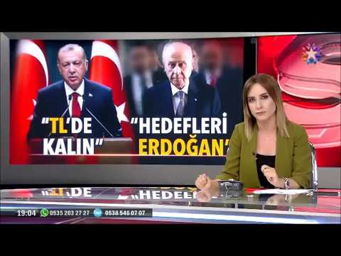 Devlet Bahçeli Senaryo aynı birisinde Ecevit idi şimdi Recep Tayyip Erdoğan