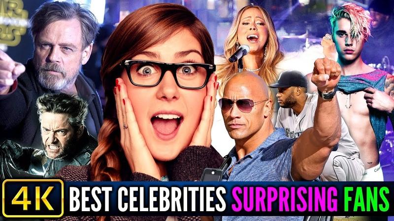 Best Celebrities Surprising Fans ❤️️ 2018 - Part 3
