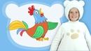 Кукутики • ПЕТУШОК - веселая развивающая песня для детей про животных