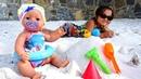 Беби Бон и Маша на море Видео для детей