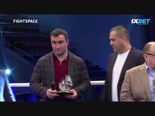 Гассиев, Пирог, Чахкиев и Бетербиев на вечере бокса в Краснодаре | FightSpace