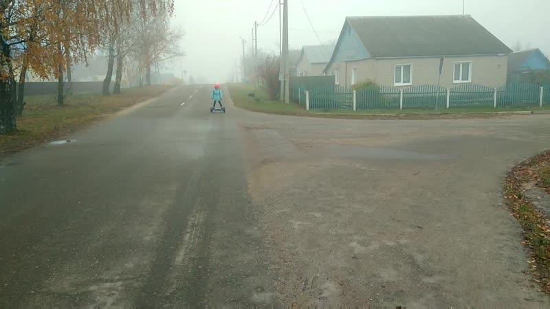 Ноябрь 2018 Милашка гироскутер