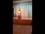 Ой, трава зелёная. Анна Андрейченко, народный вокал, 19-25 лет