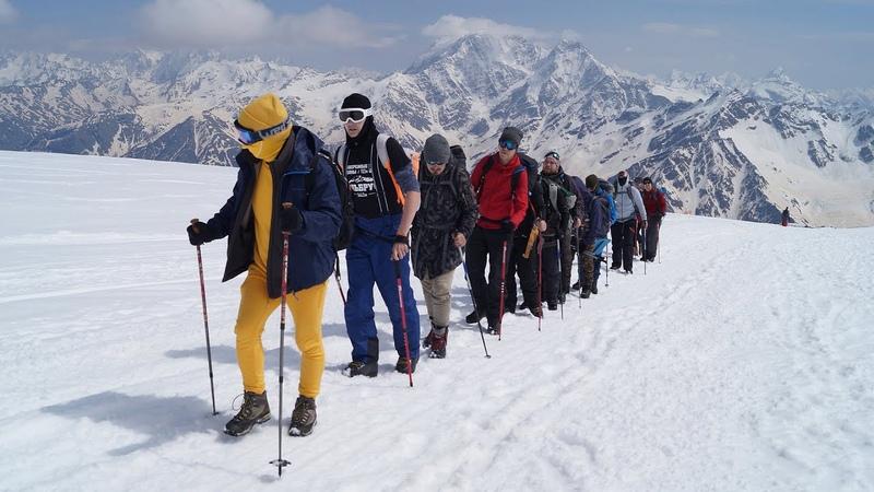 Восхождение на Эльбрус Май 2018 Документальный фильм Эльбрус Челны Сlimbing Mount Elbrus