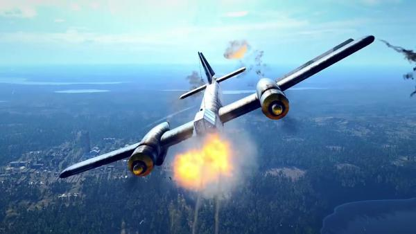 World of Warplanes Blohm und Voss BV P 203 Жажда Скорости