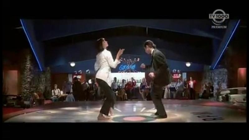 Uma Thurman Jhon Travolta Chuck Berry You Never Can Tell