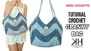 TUTORIAL BORSA UNCINETTO Granny Bag Crochet pattern ● Katy Handmade