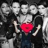 "Jeremy Scott on Instagram: ""SO MUCH LOVE 4 ALL MY GIRLS ❤️ @imaanhammam @vittoceretti @soojmooj @stellamaxwell @riannevanrompaey HMOSCHINO"""
