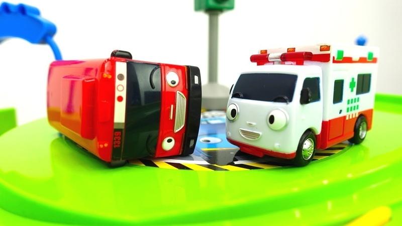 Vidéo en français pour enfants des véhicules d'assistance № 6: Ambulance
