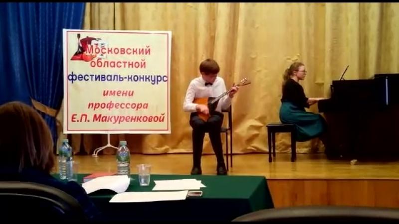 Р.н.п. в обработке Б.Трояновского