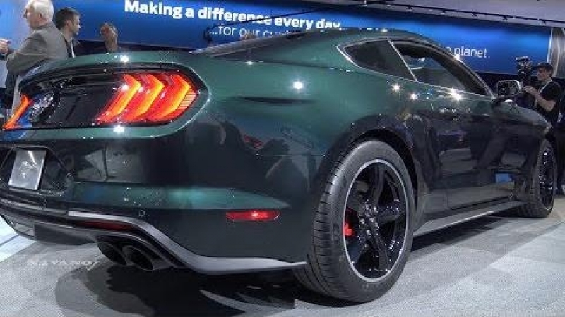 2019 Ford Mustang Bullitt - Exterior And Interior Walkaround - 2018 Detroit Auto Show